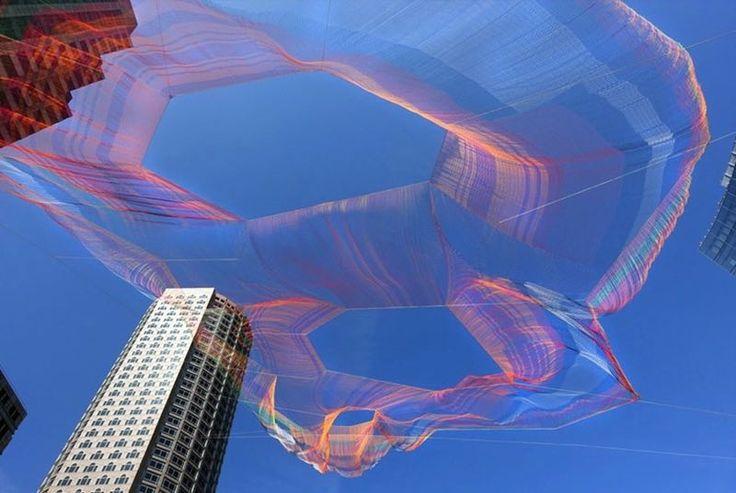 Воздушные скульптуры от Janet Echelman