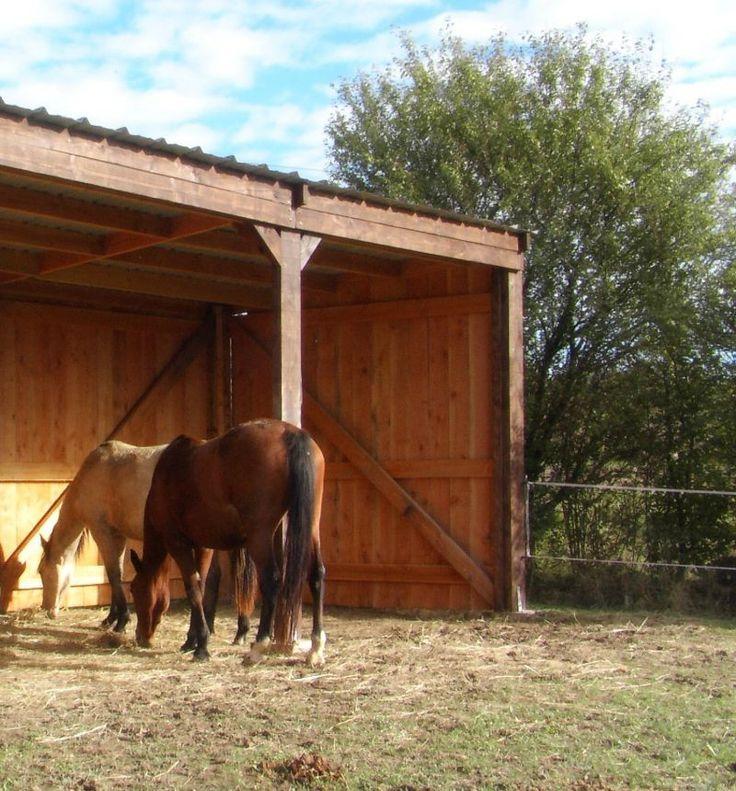 Les 25 meilleures id es de la cat gorie abri pour chevaux for Club piscine cabanon