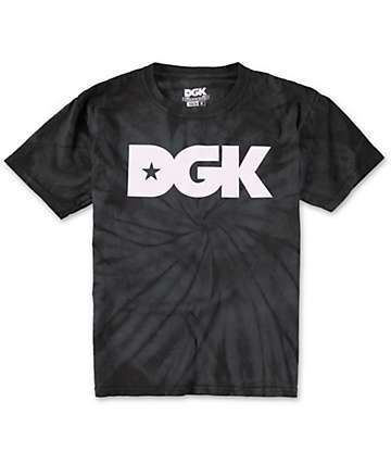 DGK Boys Logo Tie Dye T-Shirt