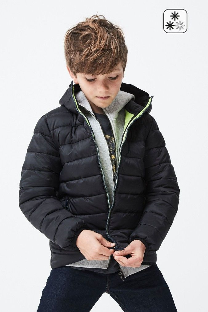 Pin by Іра Повханич on Next | Black padded jacket, Padded