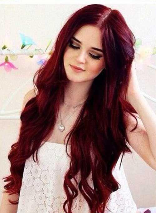 28.Red Haarfarbe