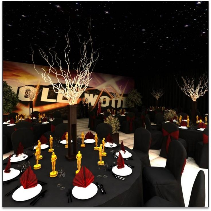 1000 images about oscars hollywood theme on pinterest for Oscar decorations