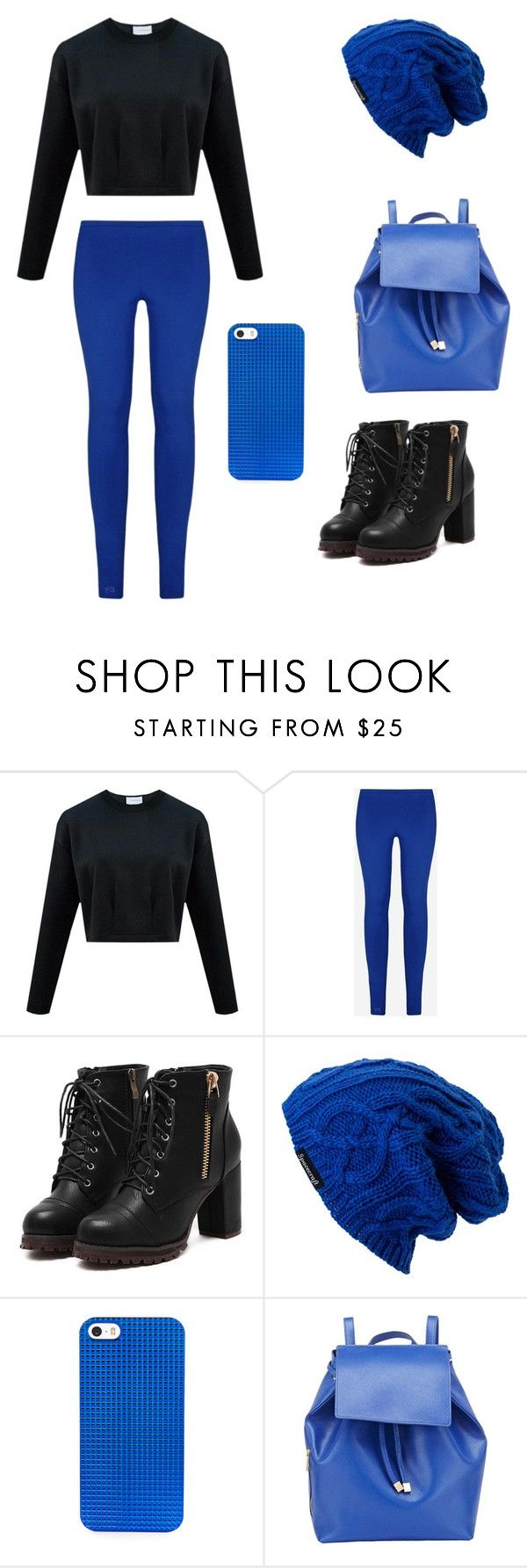 """The perfect combination."" by kayandzay on Polyvore featuring Y-3, Spacecraft, BaubleBar and Barneys New York"