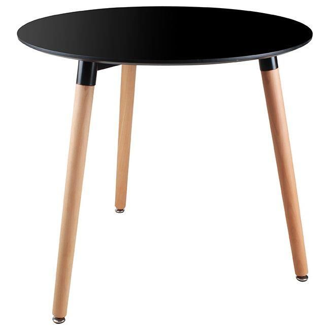 Dinner table with wooden legs www.inart.com