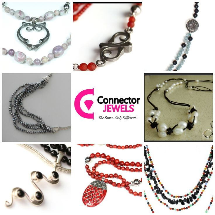 So many options when you own a Connector Jewels necklace