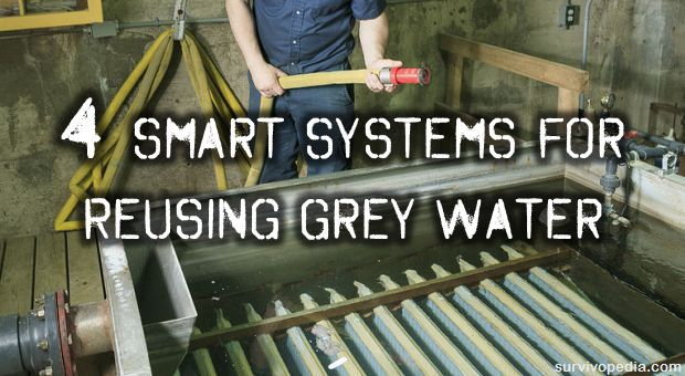 4 Smart Systems For Reusing Grey Water