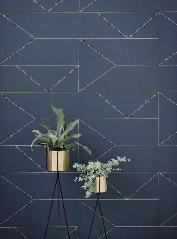 Hexagon Vase / Ø 18 cm - Ferm Living