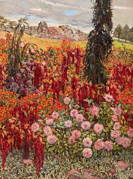 Lucy Culliton: Love lies bleeding :: Wynne Prize 2017 :: Art Gallery NSW