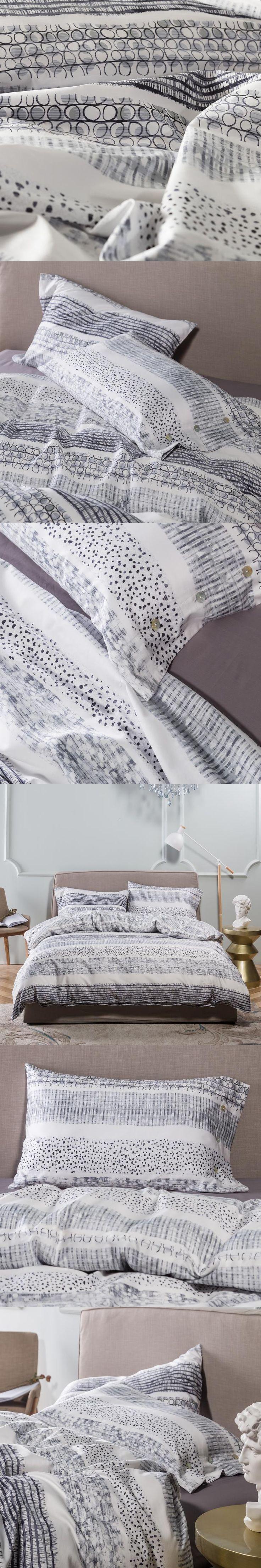 fashion geometric print bedding sets queen king double twin size egyptian cotton bedlinens duvet cover sheet