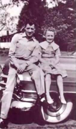 "Robert ""Lee"" Parton with his daughter Dolly"