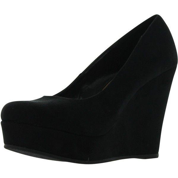 1000  ideas about Black Platform Wedges on Pinterest   Wedge heels ...