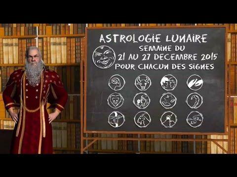 Astrologie Lunaire ☽ Semaine du 21 au 27 décembre 2015