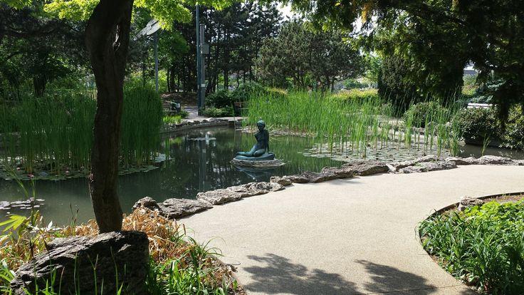 Japanese Garden.  Margaret Island, Budapest