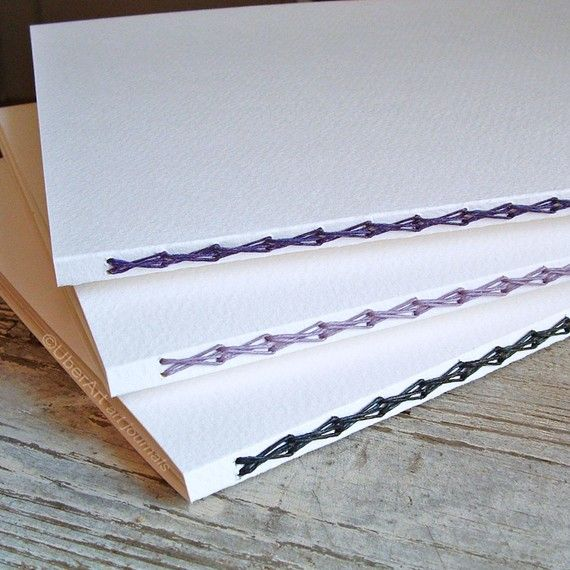 Blank Watercolor Art Journal, 16 Pages Each, Design Your Own, READY to SHIP