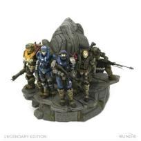 Halo Reach Legendary Edition NOBLE TEAM STATUE
