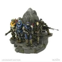 Halo Reach Legendary Edition NOBLE TEAM STATUE