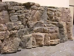 how to make a fake rock wall for aquarium