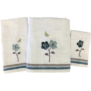 Mainstays Dragonfly Towel Set This Is The Design I Am Using In My Master  Bathroom.