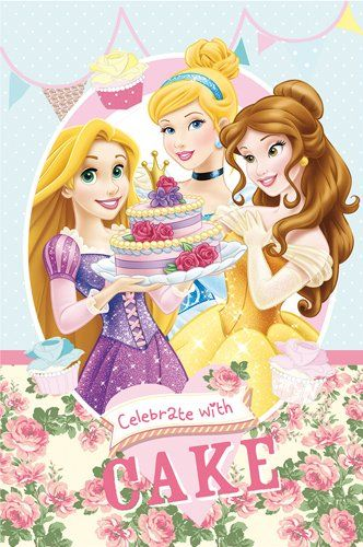 Disney Fleece Deken - Princess (100x150cm)