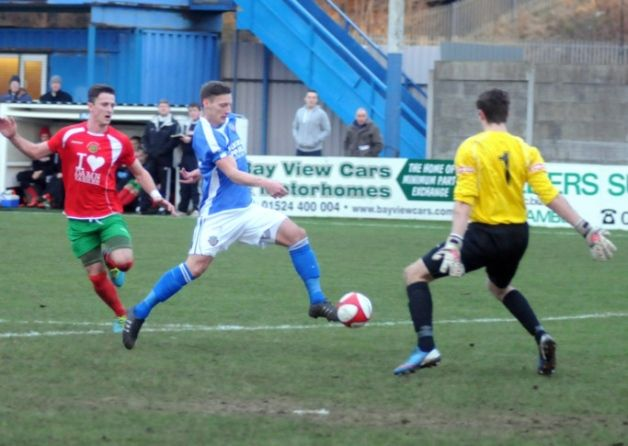 Lancaster City's play-off hopes took another blow on Saturday as they lost to rivals Ramsbottom United at Giant Axe