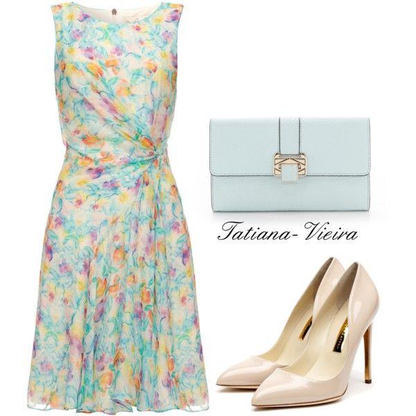 """064"" by tatiana-vieira on Polyvore. Love that dress!"
