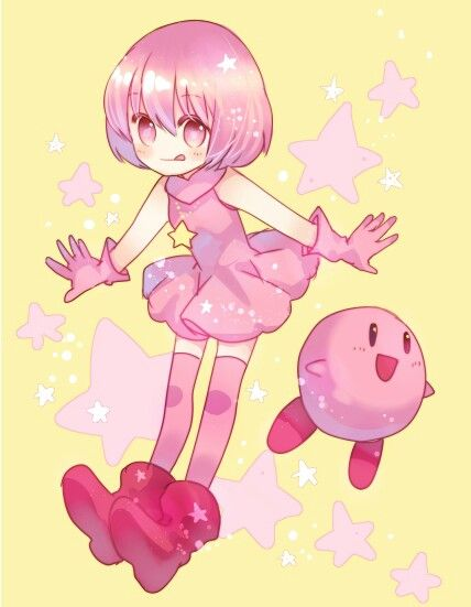 Kirby and his human version | KIRBY | Pinterest | Boys and ...