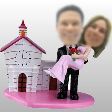 Do you envy them when you see the couple? I am sure you will. The bride must be very full of happiness when the groom her husband is carring her.  http://www.whoopgift.com/swimmer-make-your-own-bobblehead-cheap-canada-11395.html                                                                                                                                                     More