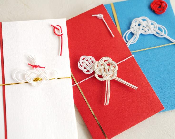 envelopes for New Year's gift スタイリッシュミニ金封(ぽち袋)