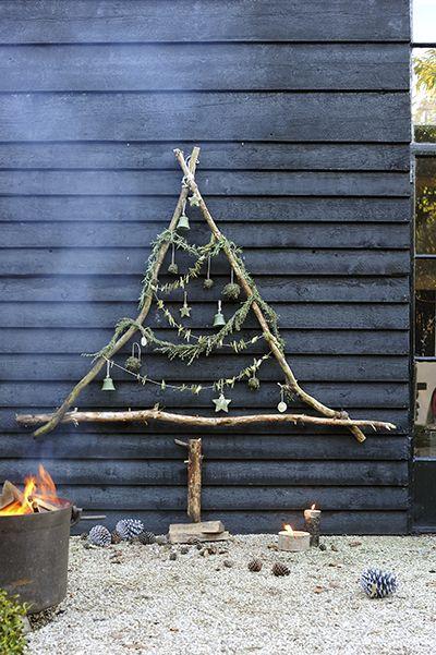 Alternative Christmas tree for outside