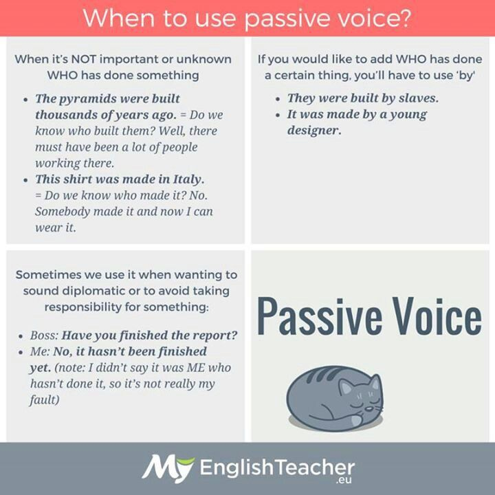 school grammar forward active voice vs passive voice active pasive ...