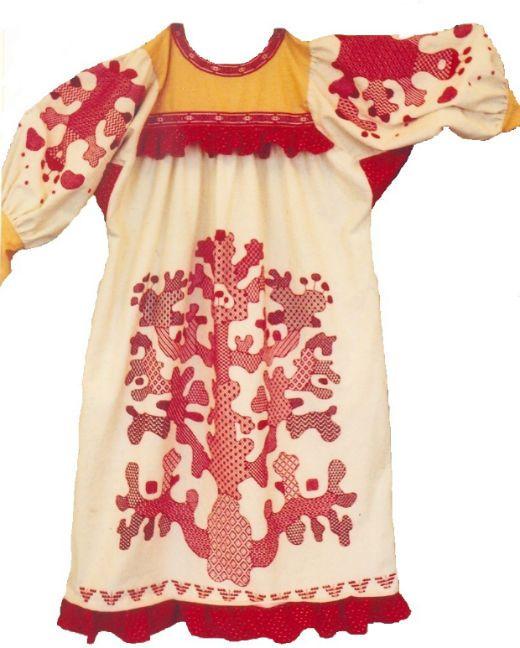 Традиционный Орловский спис — это  рушники, подзоры и скатерти.Попадаются и платья с полосками браного шитья.