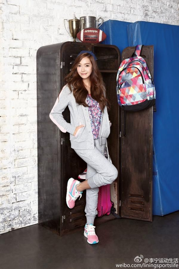 Jessica Jung Li-Ning 2015 Spring-Summer Lookbook