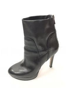 911598dec sam edelman womens boots size 9 Black Leather High Heel Ankle Platform  Booties