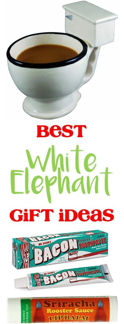 The Frugal Girls|White Elephant gift ideas and funny gifts