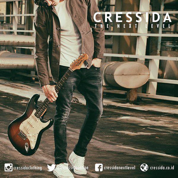 Rock style #Cressida #CressidaONL #cressidaclothing #bdg #indonesia #fashion #fashionbdg #fashionblogger #fashionista #style #badboy #otd #guitarist #rock #star