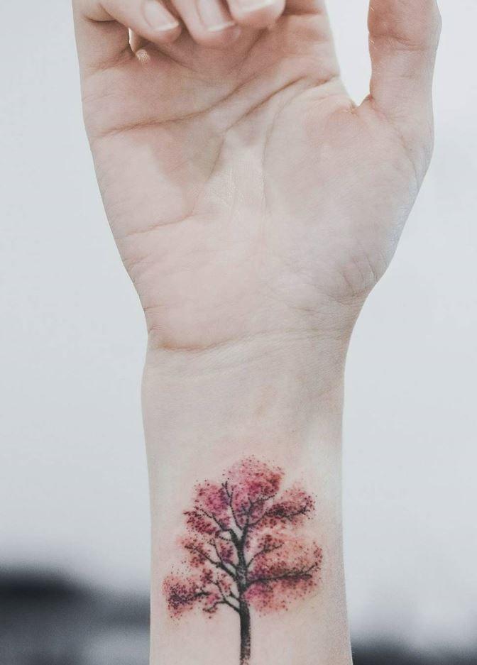 110 Super Cute Tattoo Ideas You Ll Wish You Had This Summer Thetatt Tree Tattoo Designs Cute Tattoos Willow Tree Tattoos