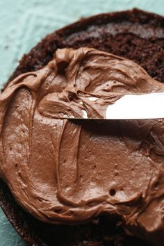 Chocolate Cream Cheese Frosting on top of a rich and soft chocolate cake is a dream dessert! The frosting is creamy and delicious…good enough to eat with a spoon! I know you like chocolate cake. I don't think I am going out on a limb by saying that, or giving away any huge secret. I... Read More