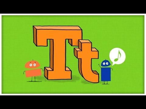 "Download this song for FREE → http://sbot.co/letter-t    ""Time For T"" brings the 20th letter of the alphabet to life, and is part of the StoryBots ABC Jamboree Series (from the team that brings you JibJab with music by Parry Gripp).   The StoryBots celebrate how terrific the letter ""T"" is, and sing about turtles, turkey, and tennis!    Lyrics:  StoryB..."