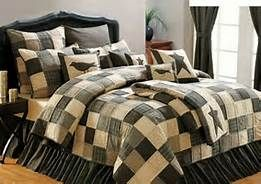 Kettle Grove bedding available at *The Farm*, to order call 217-742-5050.