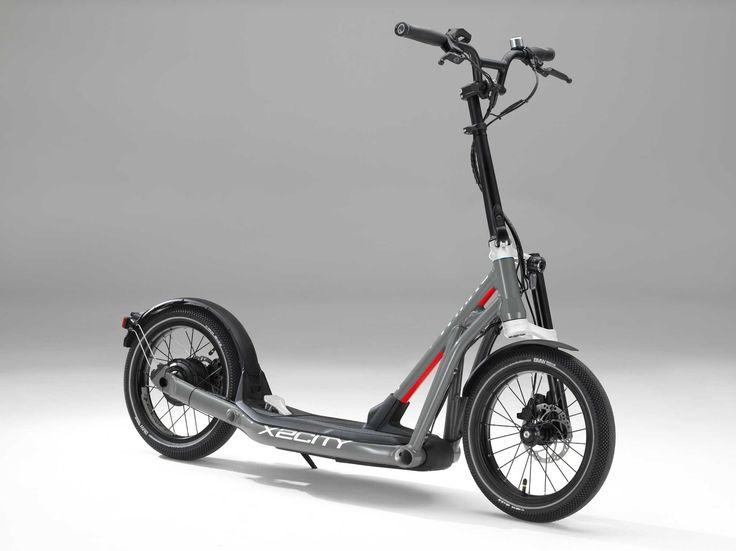 BMW Motorrad X2City. Mobilität mit Kick – vielseitig und emissionsfrei.
