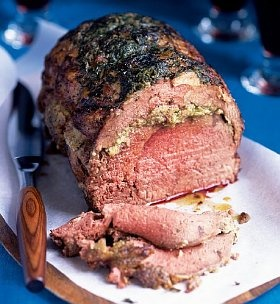 Forerib of Beef with Horseradish Butter