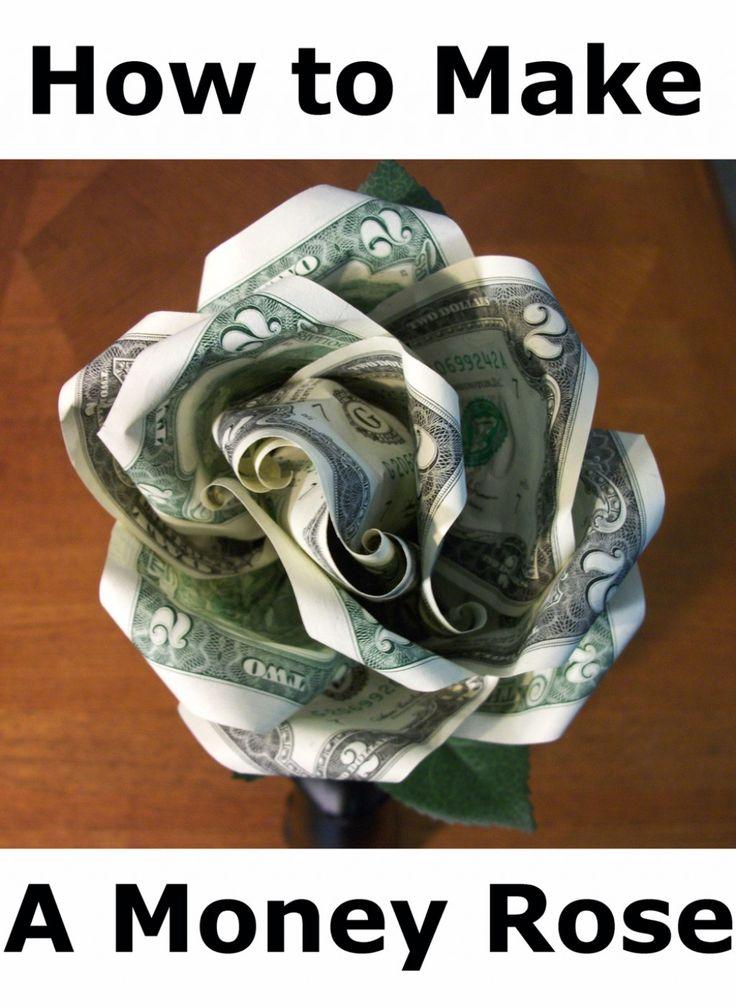 How to Make a Money Rose
