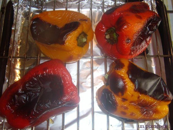 Foto Peperoni arrostiti