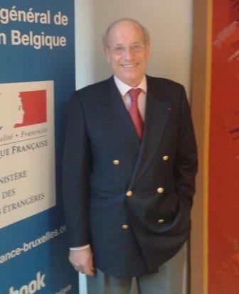 Daniel Gachet – Président de l'Association des Officiers français de Belgique et de l'Association nationale des membres de l'ordre national du mérite - Représentation Belgique