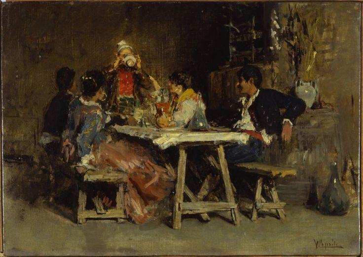 Vincenzo Caprile, Pranzo di nozze. La casa del cacciatore, Milano, Museo Nazionale Scienza e Tecnologia Leonardo da Vinci