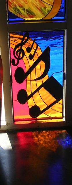 147 Best Stained Glass Music Images On Pinterest Music