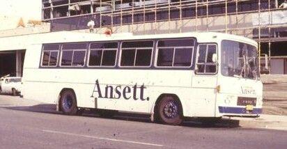 Ansett Australia Bus