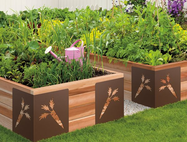 Small Vegetable Garden Layout Planter Boxes