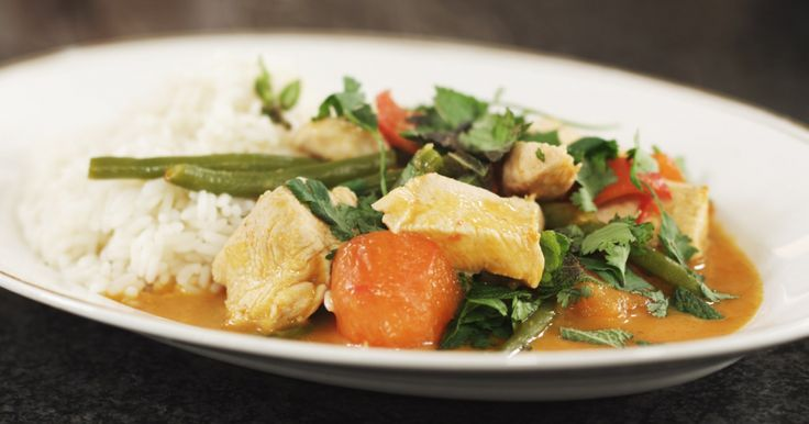 Thaise rode curry met kip | Dagelijkse kost