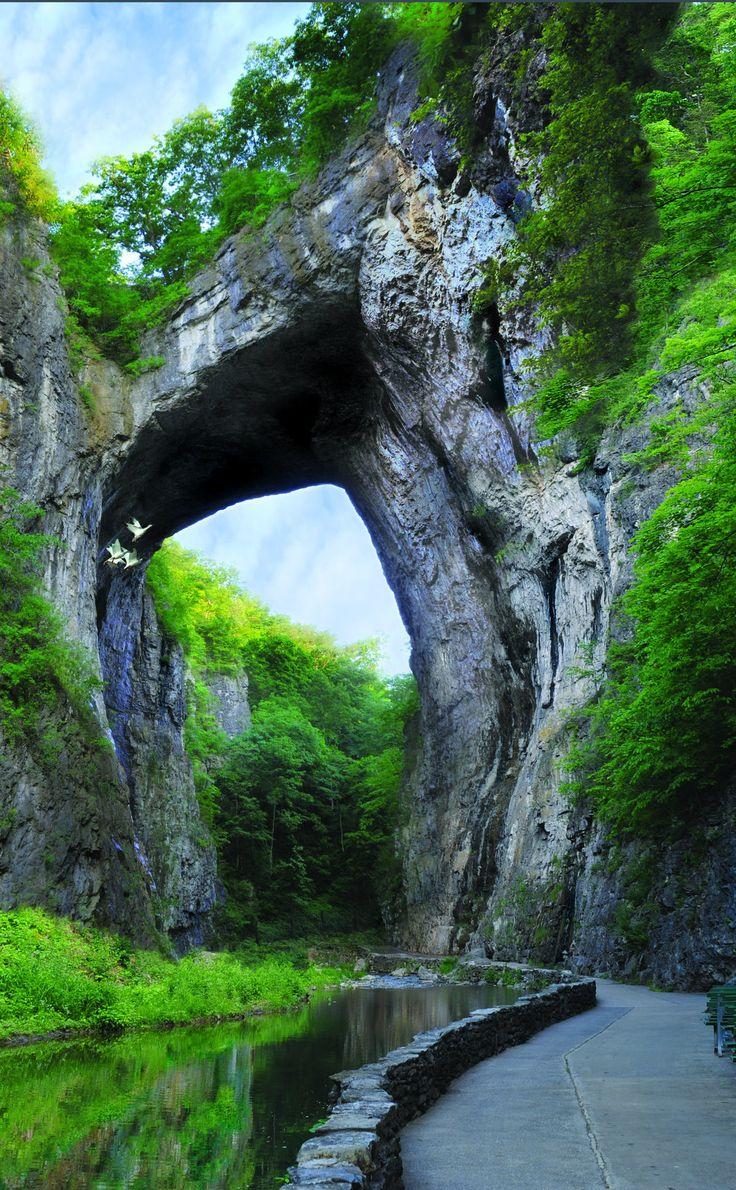 Natural Bridge Park | Travel | Vacation Ideas | Road Trip | Places to Visit | Natural Bridge | VA | Fall Foliage | Hiking Area | Nature Reserve | Natural Feature | Native Culture | Tourist Attraction